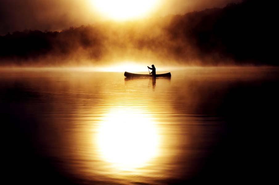 Burning Canoe - Ontario, Canada