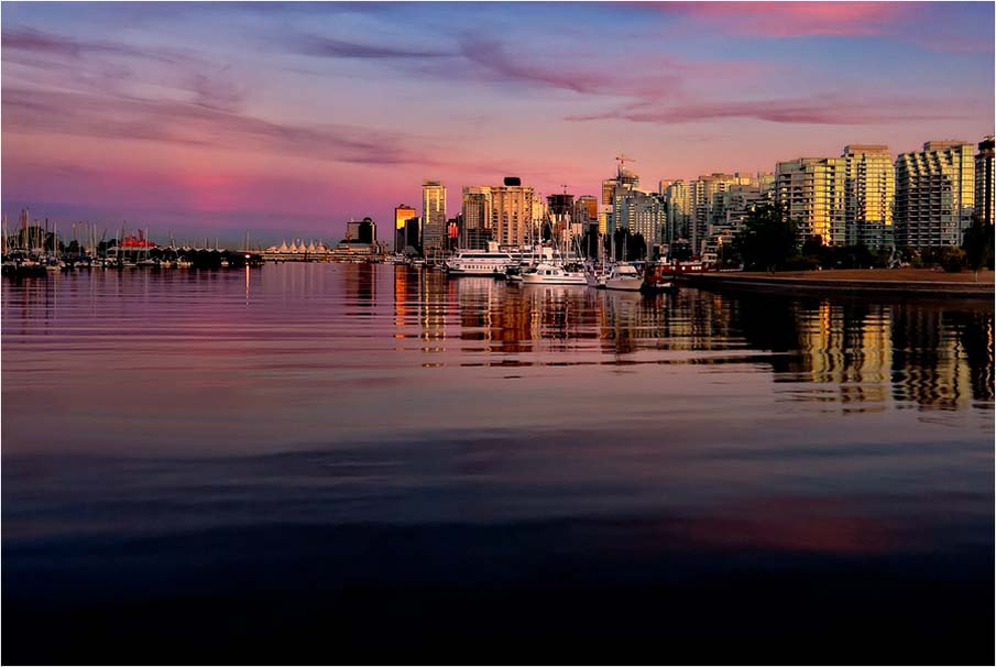 Coal Harbour Dusk
