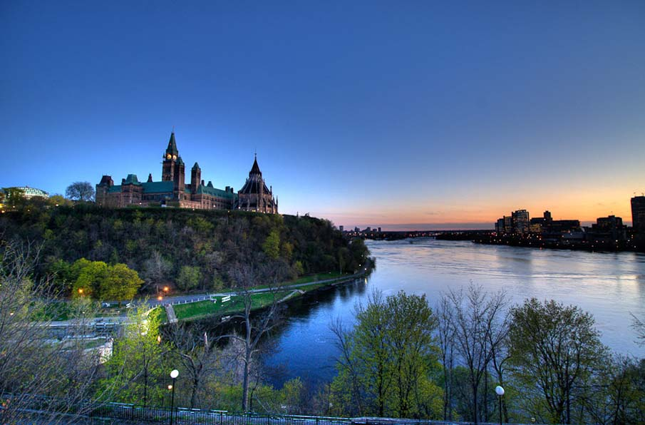 Ottawa at Dusk