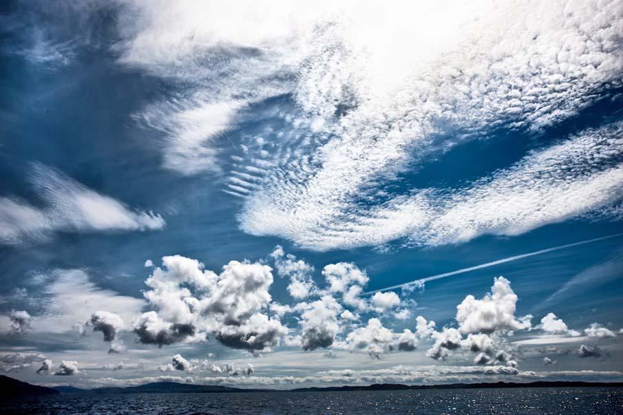 Малл небо