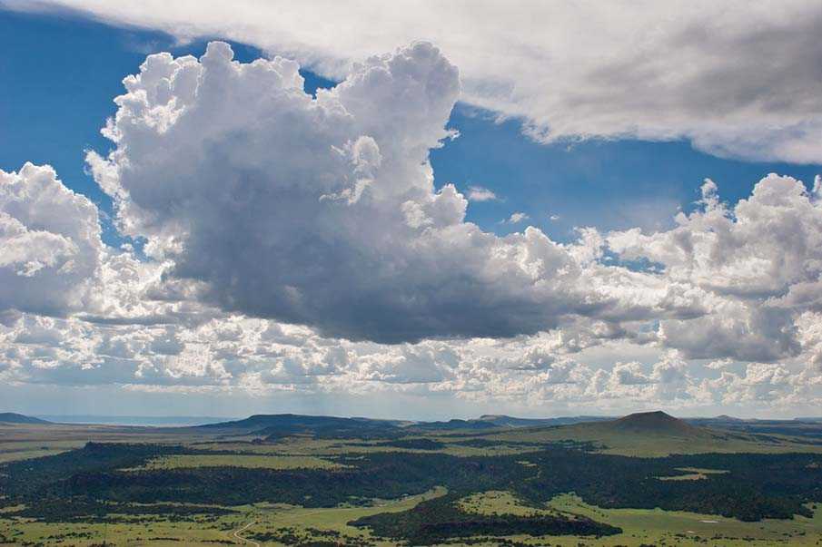 Clouds Above Capulin