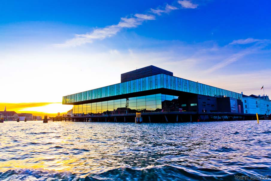 Sunset at the Royal Danish Playhouse