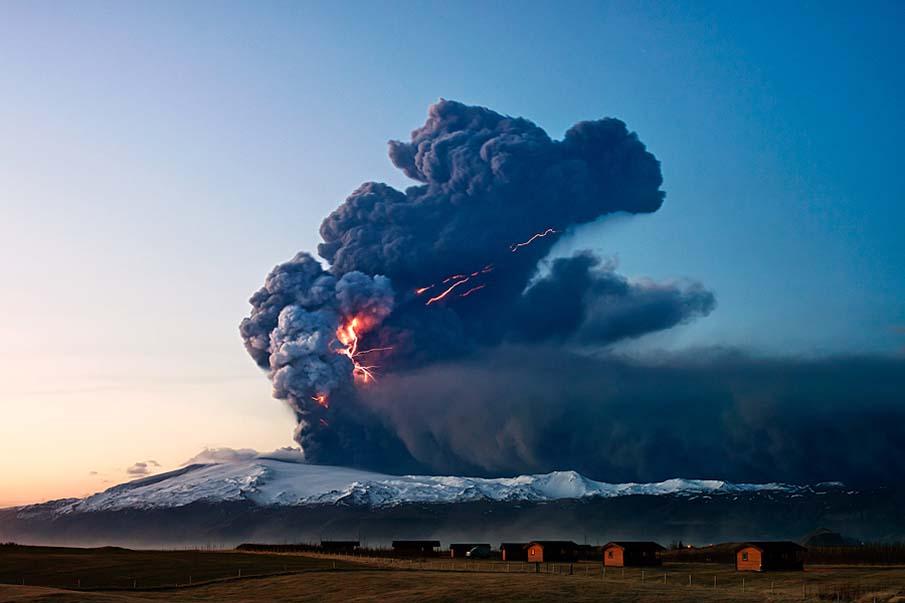 Volcano Eruption of Eyjafjallajökull