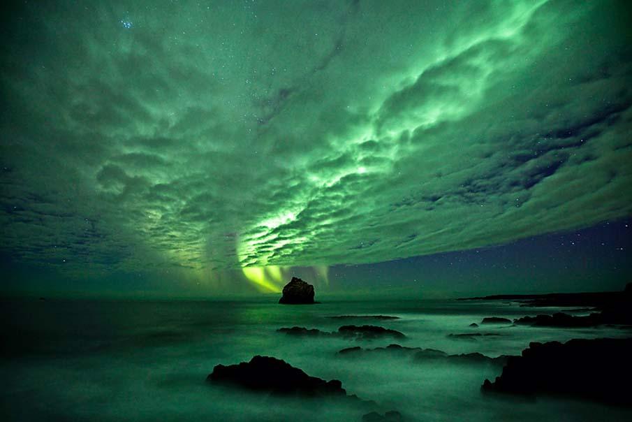 Aurora @ Reykjanes Peninsula Iceland