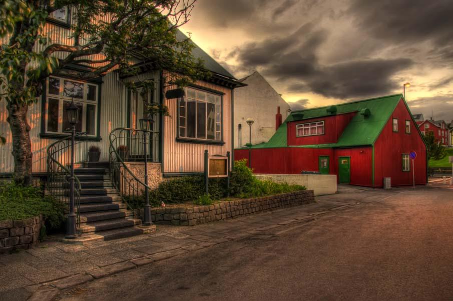 Reykjavík in the Morning