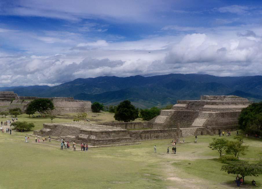 Ruinas Monte Albán, Oaxaca