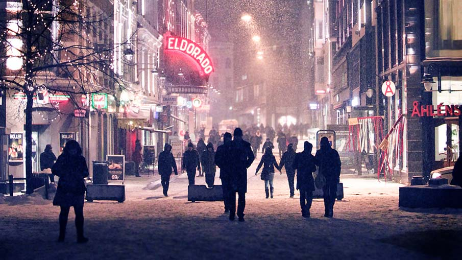 Winter in Oslo, Norway