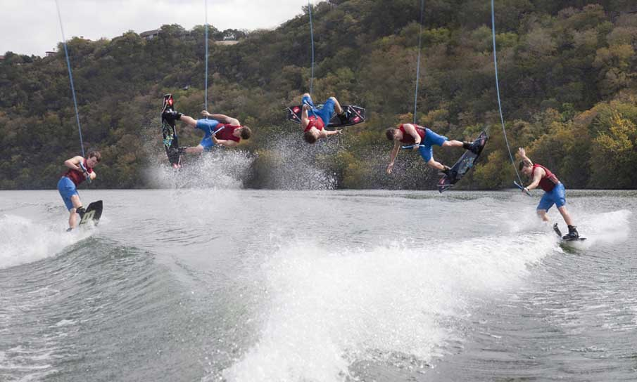 Wakeboarding | Lake Austin