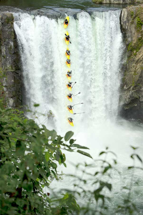 Tomata Kayak Sequence