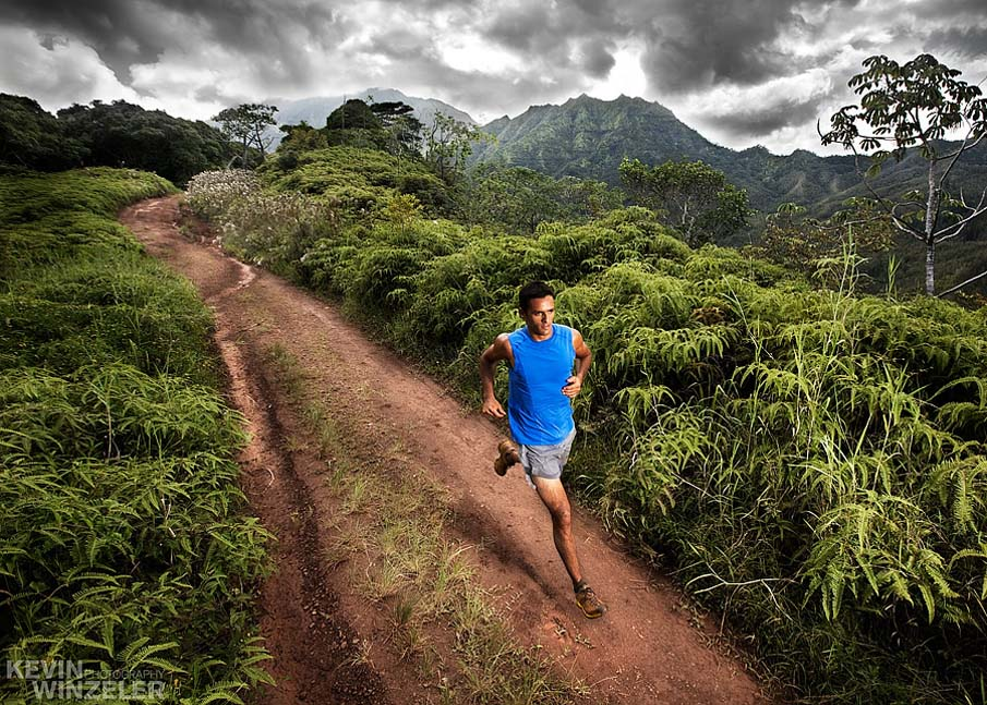 Trail Run in Kauai