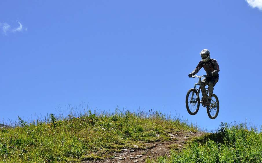 Downhill Mountain Biking V