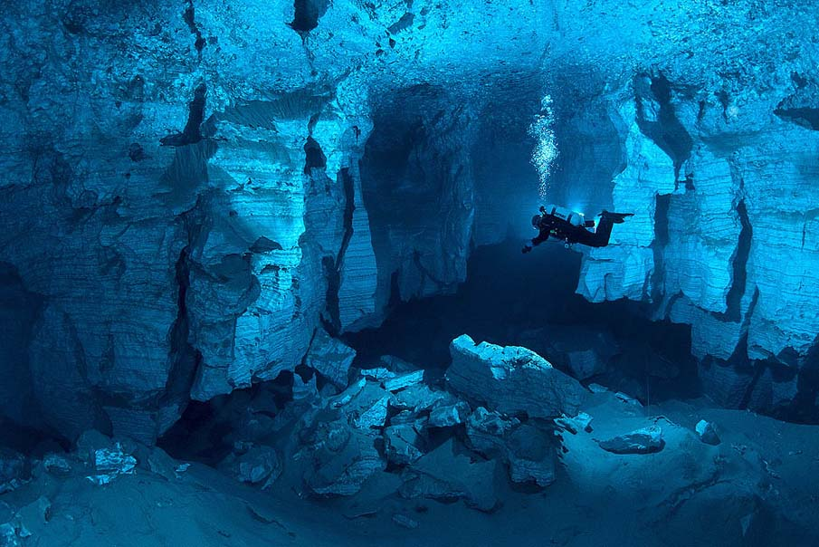 Underwater Cave 13
