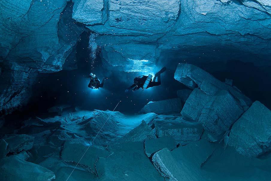 Underwater Cave 16