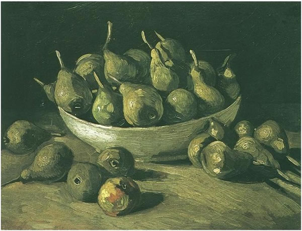 Still Life with an Earthen Bowl and Pears