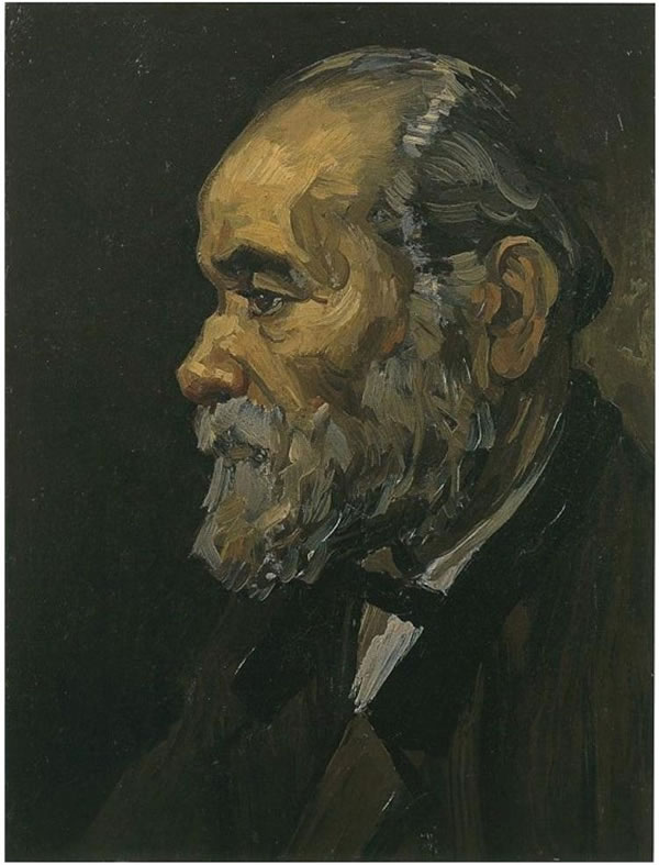 Portrait of an Old Man with Beard
