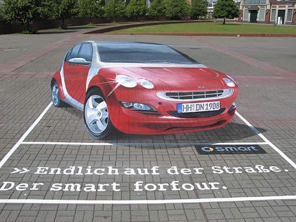 Illusionary Car