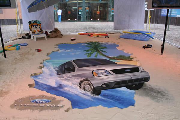 Street Art 3D - Ford Mexico