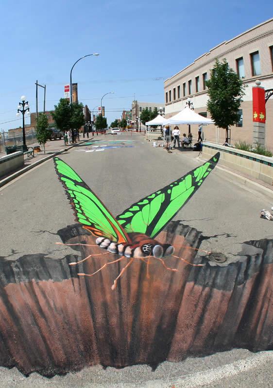Sidewalk Art in Canada