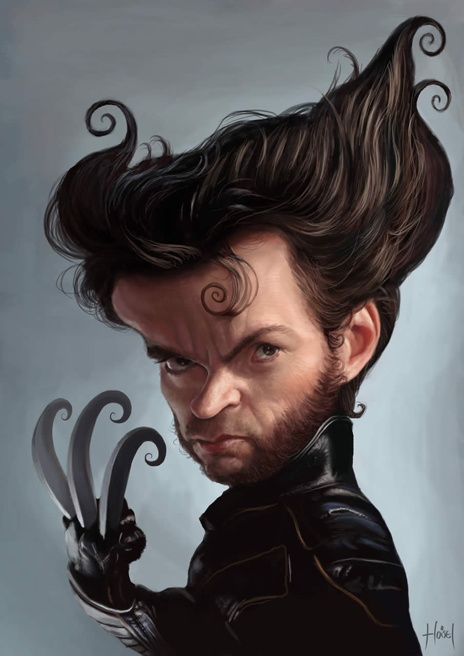Hugh Jackman - Wolverine