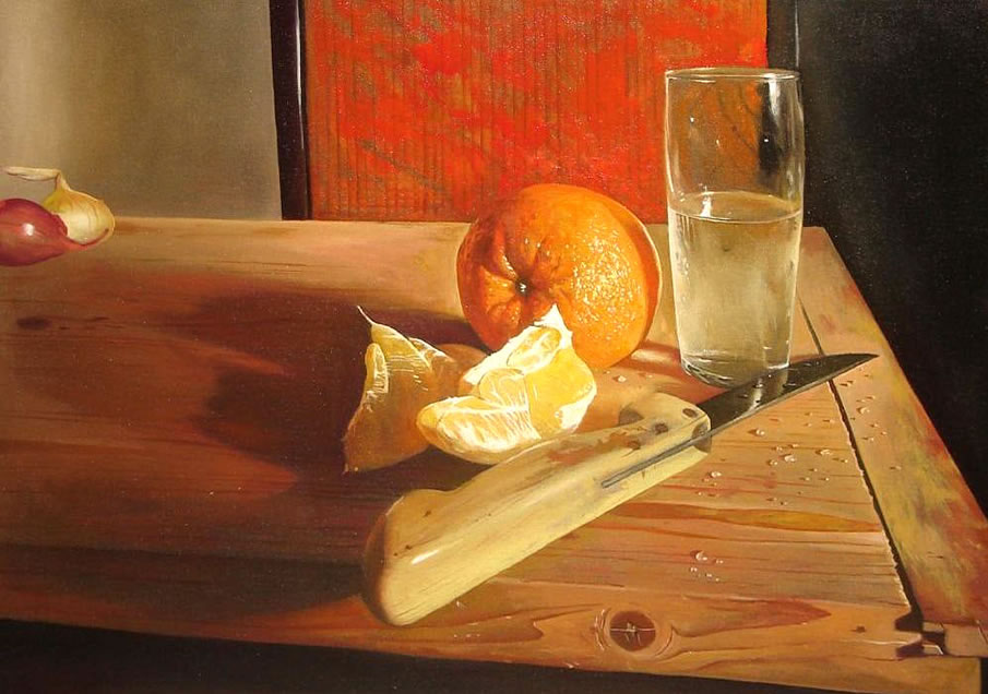 Still Life with an Orange