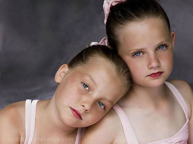 Twin Ballerinas