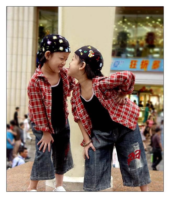 Twins Teasing
