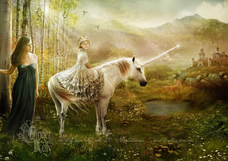 Fairytale Princess Unicorn