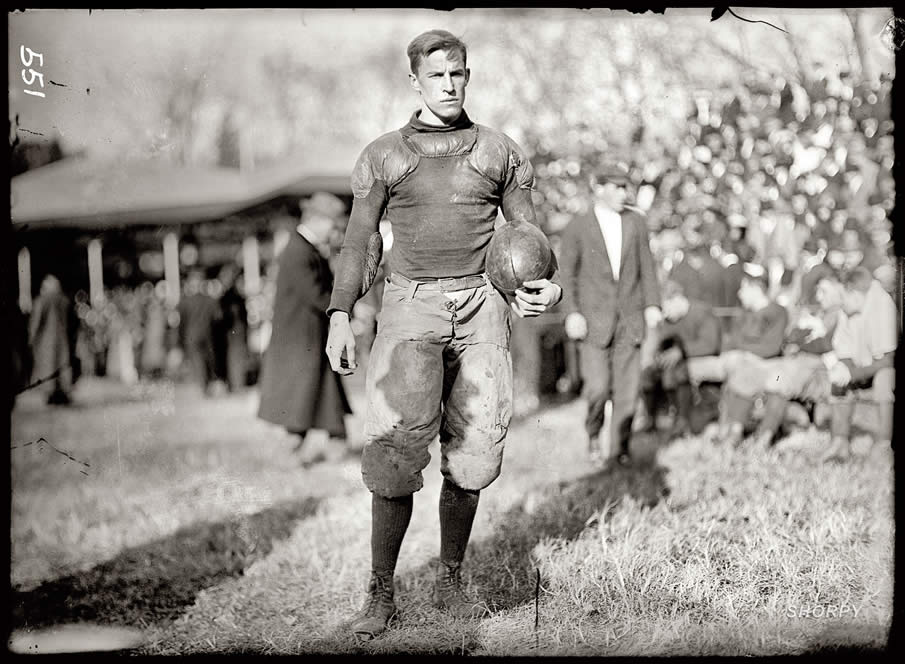 "1911. Washington, D.C. ""Football. Georgetown University Game."""