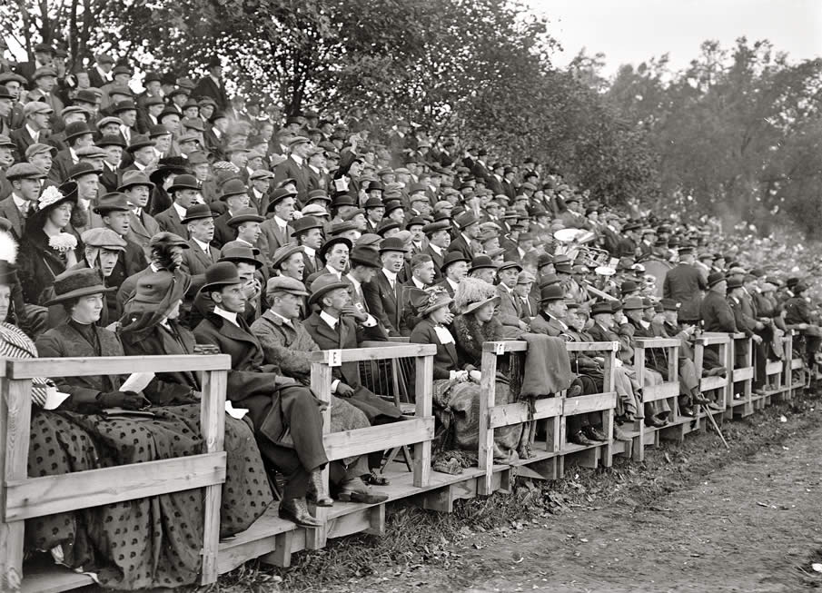 "Washington, 1912. ""Football. Georgetown-Carlisle game; Glenn Warner."""
