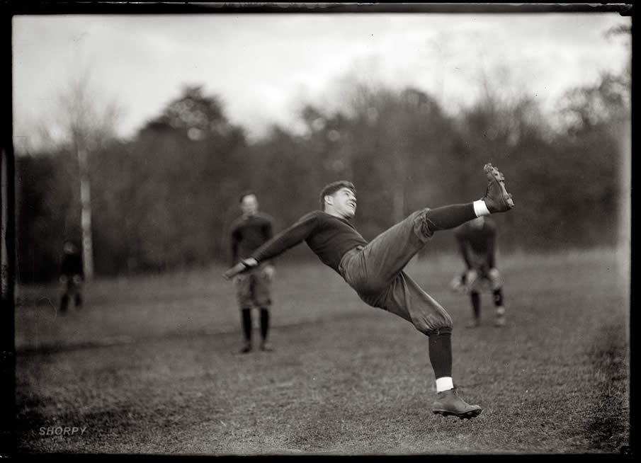"1912. ""Football, Costello; Georgetown-Virginia game."""