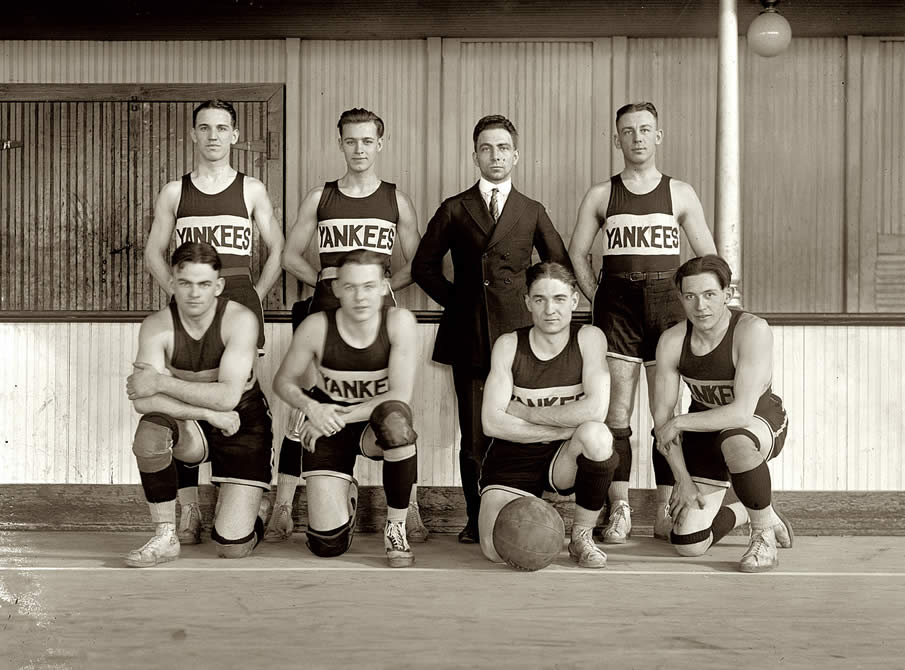 Yankee group, 1921.