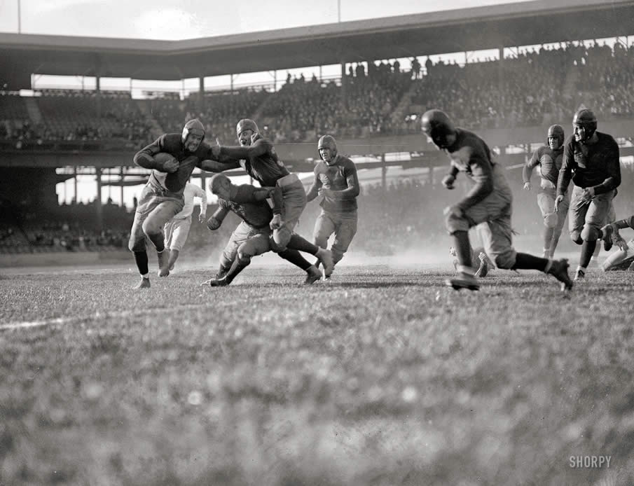 November 3, 1923. High school football in Washington, D.C.: Eastern vs. Central. -2-