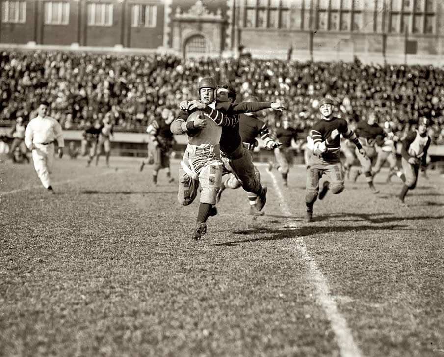 November 3, 1923. High school football in Washington, D.C.: Eastern vs. Central.