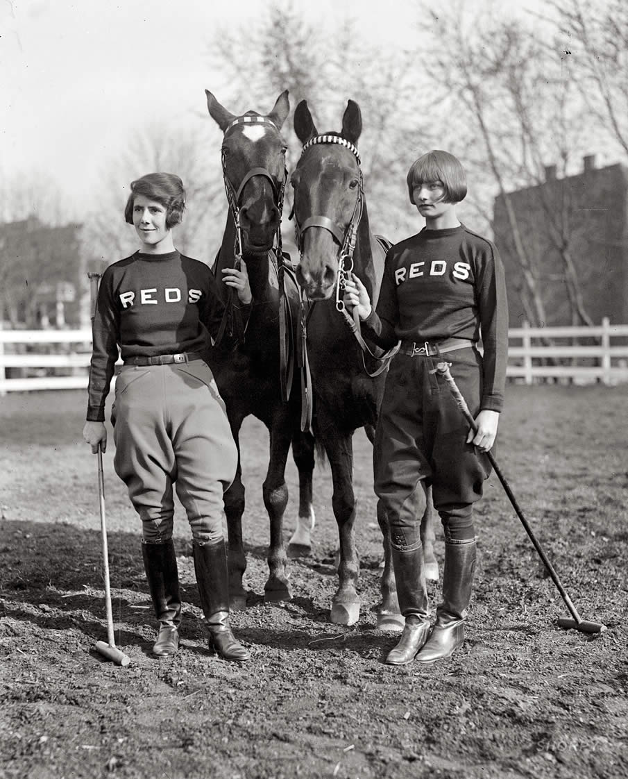"April 18, 1925. ""Miss Louise Ireland & Miss Helen Marye."""