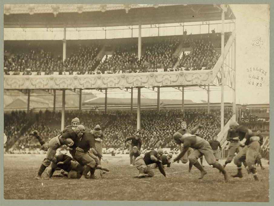 Army - Navy game, Polo Grounds, New York. 1915.