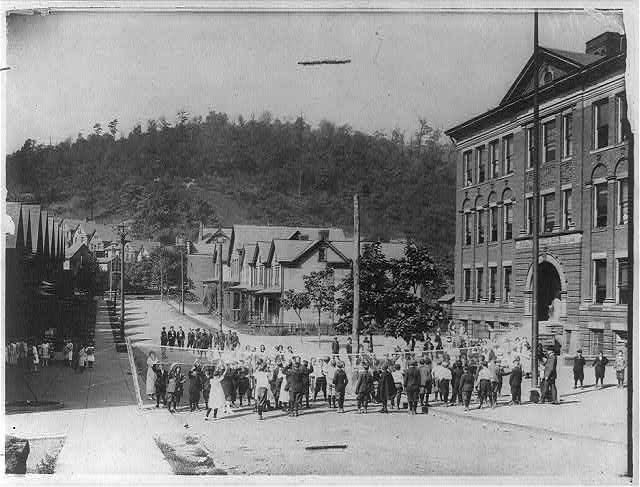 Recreation period, Pitcairn, Pa. 1919.