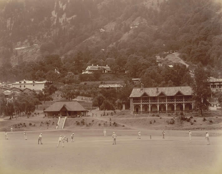 Cricket Match at Nainital
