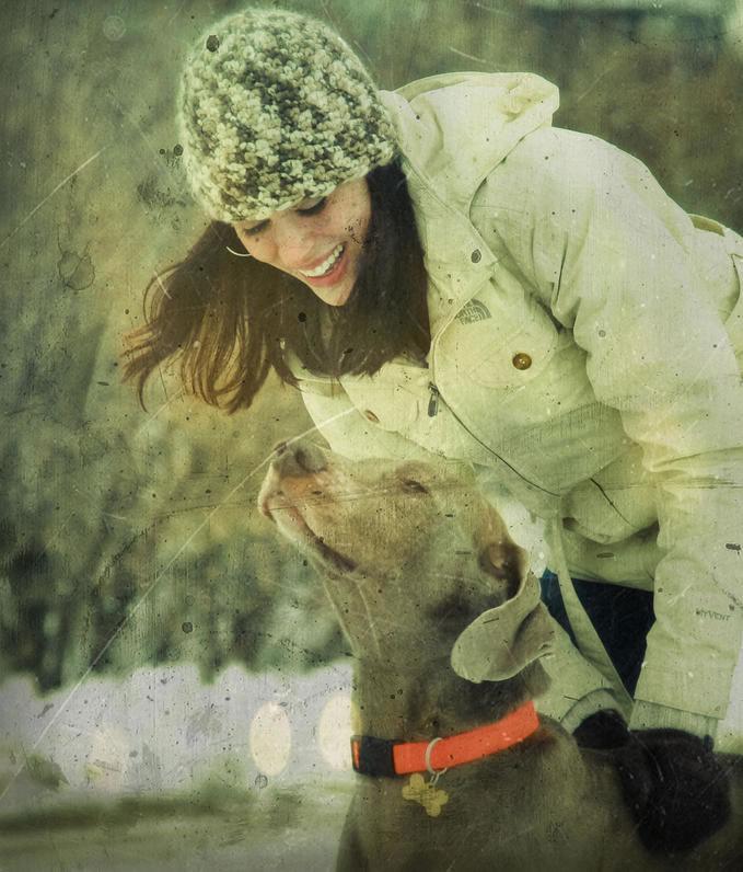 Katie & Moose