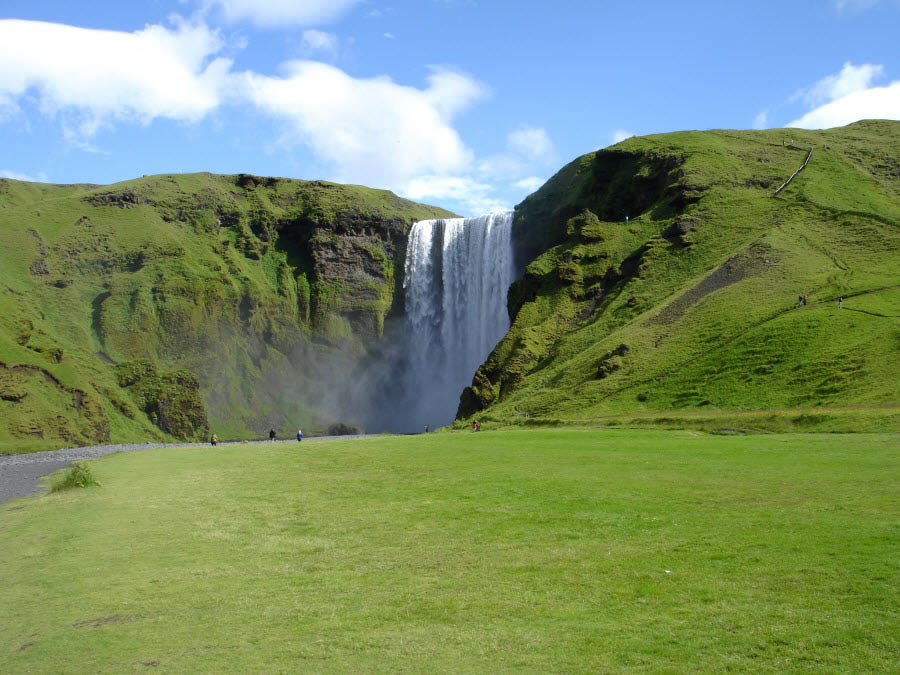 Beauty of Skogafoss