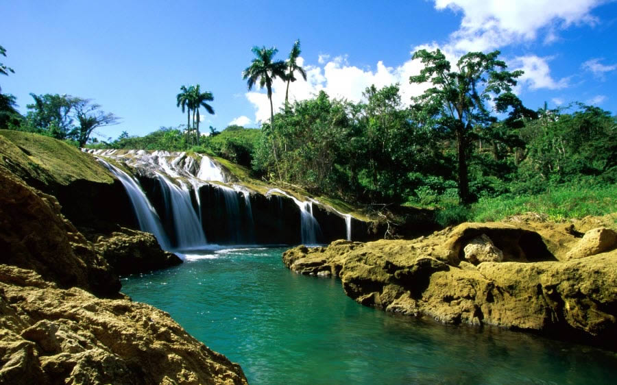 Paradise Waterfall