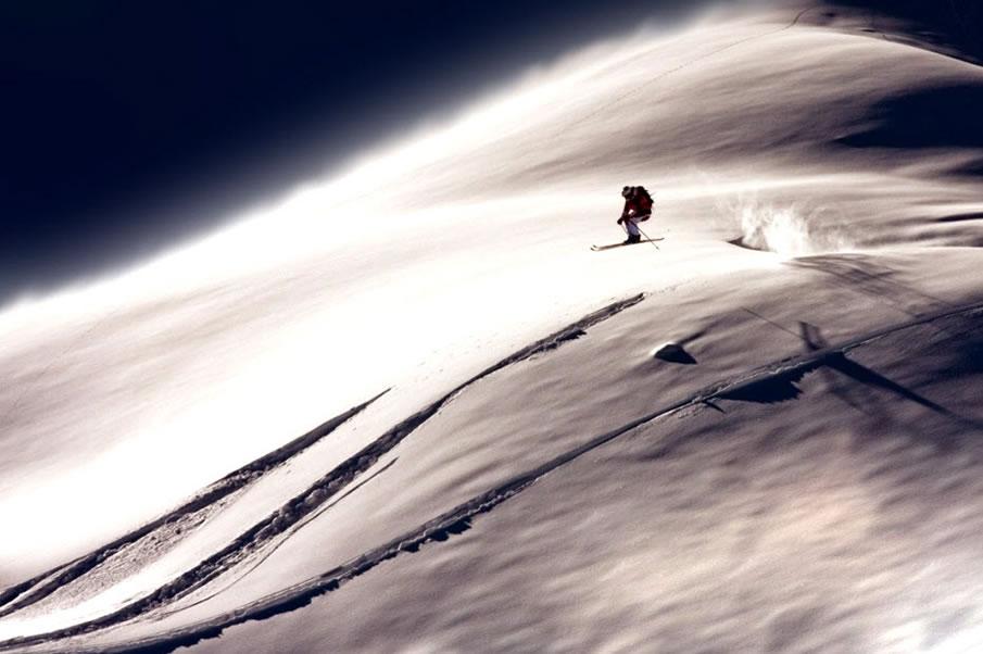 Moon Skier...