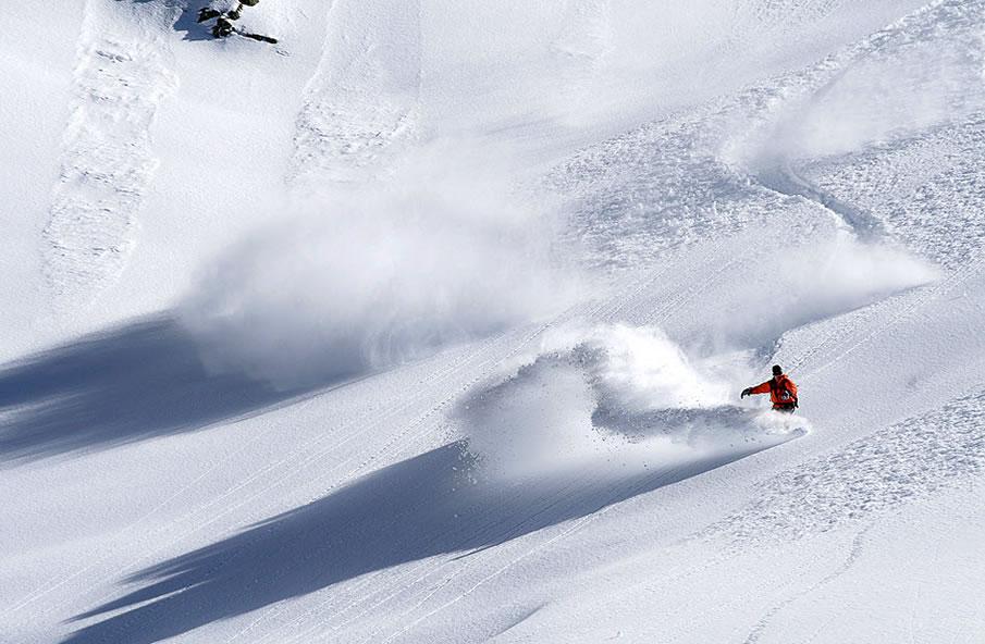 Deep Powder in Les 7 Laux