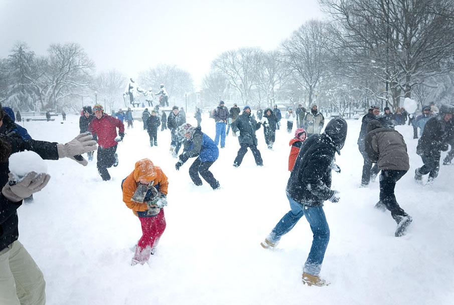 Big Snowball Fight