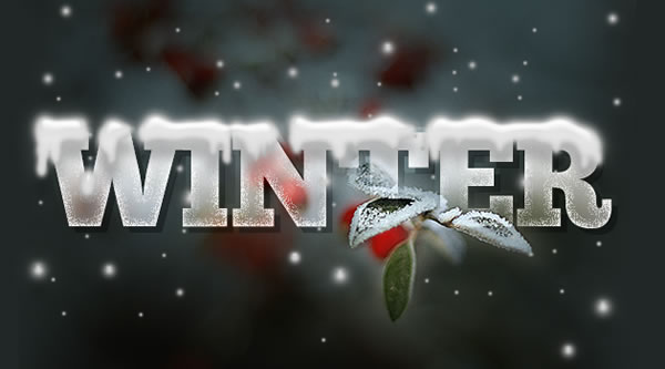 Text Designs Illustrator Design a Wintry Text Effect