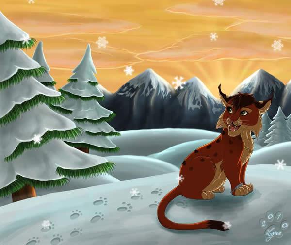 Guiton in Winter