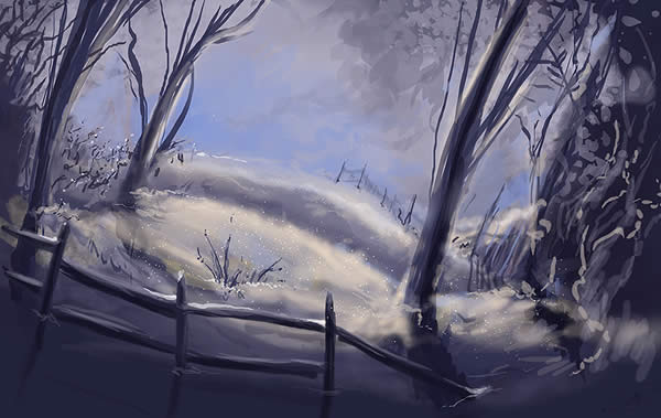 The Lingering Snow