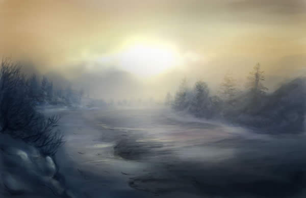A Cold Sunset