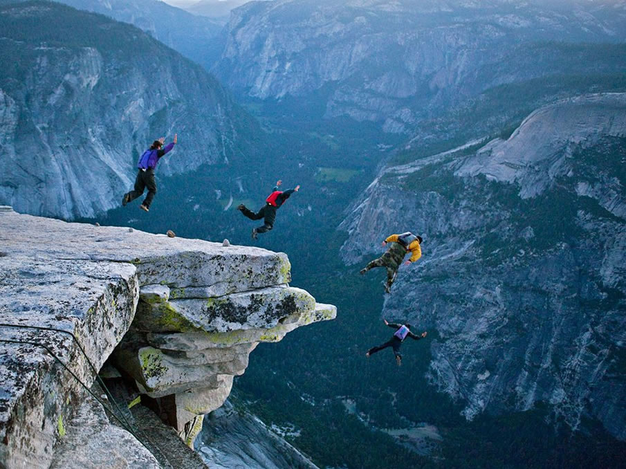 BASE Jumping, Yosemite