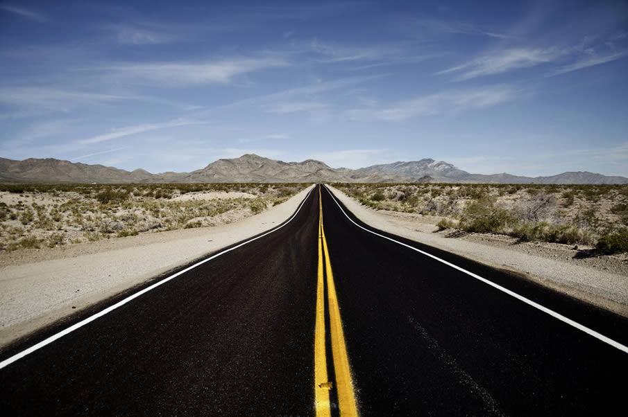 Пустынной дороге