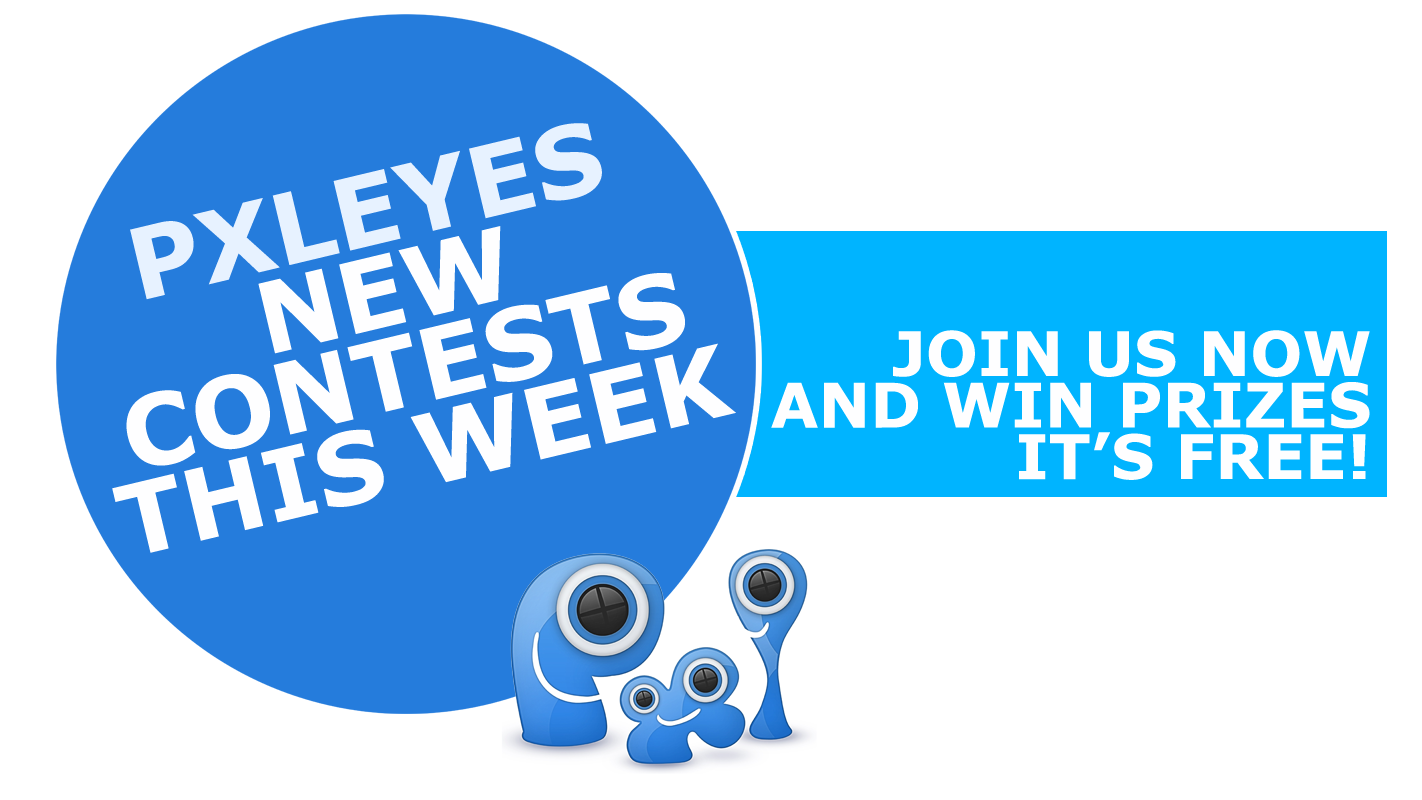 Contests starting June 21, 2017 on Pxleyes